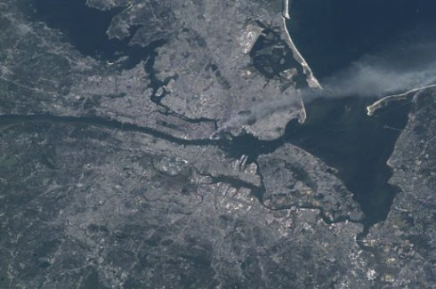NYC 9/11/01 Courtesy of International Space Station